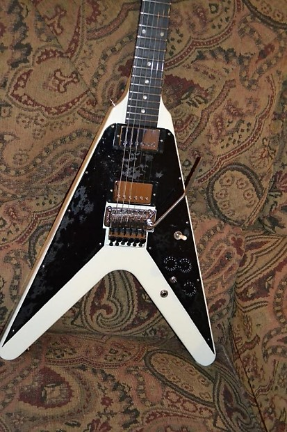 gibson flying v floyd rose reverb. Black Bedroom Furniture Sets. Home Design Ideas