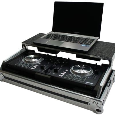 Harmony HCMINILT Flight Glide Laptop Stand DJ Custom Case American Audio VMS4.1