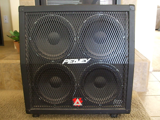 peavey 4 x 12 speaker cabinet sheffield speakers stereo. Black Bedroom Furniture Sets. Home Design Ideas