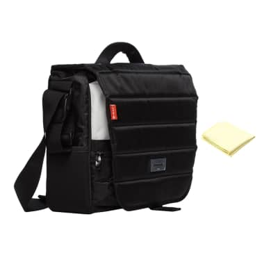Mono EFX Fader DJ Bag in Jet Black with Custom Designed Instrument Cloth