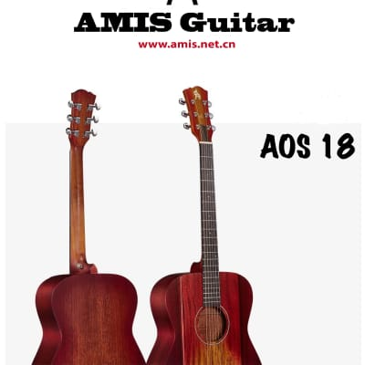 AMIS AOS 18 Acoustic guitar - Great Tone with Great Value 2018 Mixed Colors for sale