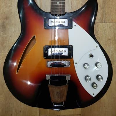 Shaftesbury 3261 1970's 3 Tone Sunburst for sale