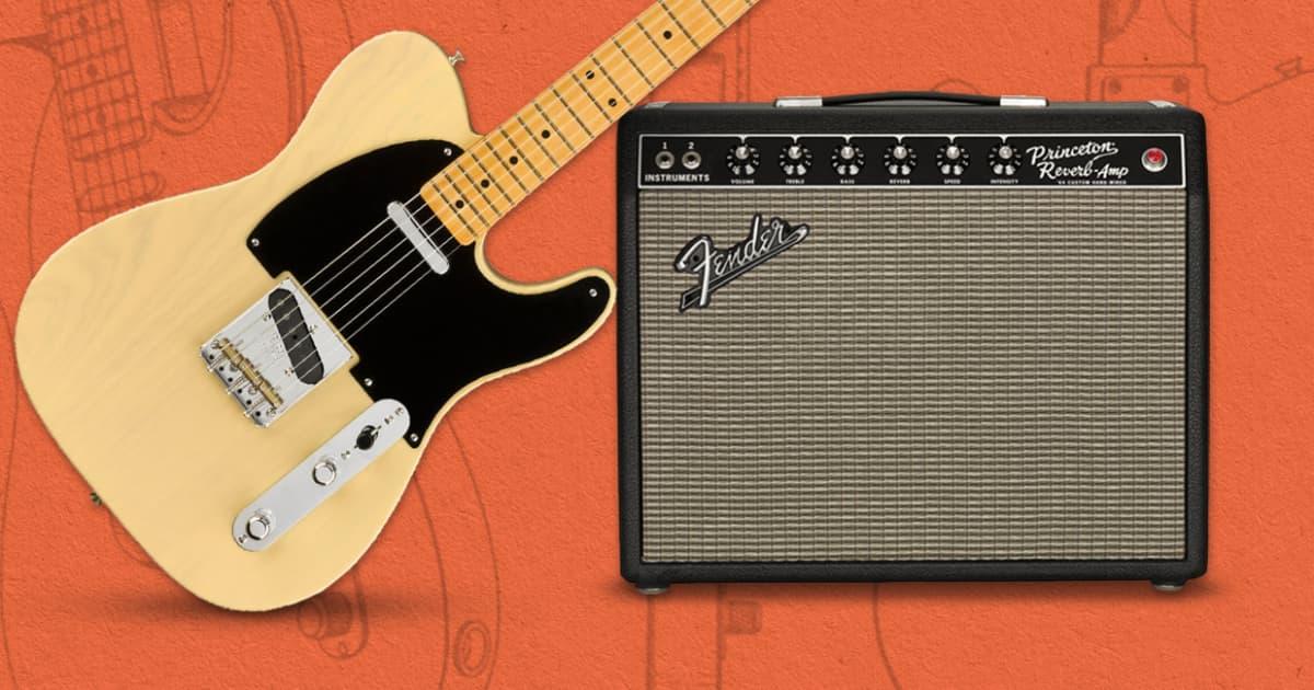 Video: Fender's Retro Reissues—Broadcaster, '64 Princeton Reverb & American Original Teles   NAMM 2020