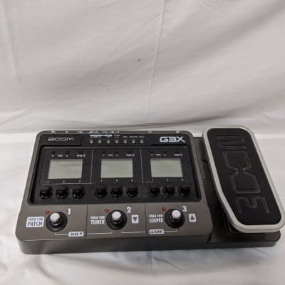 Zoom G3X Multi-effects Unit For Electric Guitar With Expression Pedal