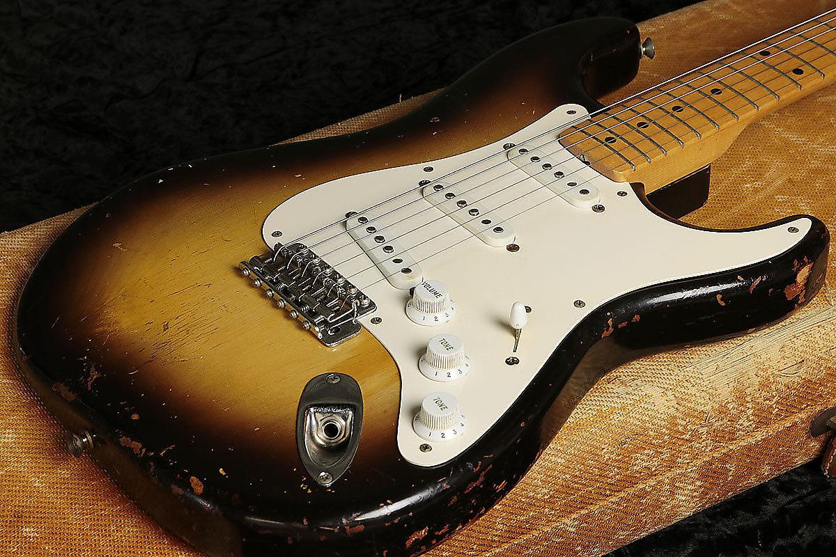 Fender Stratocaster Sunburst 1956 Reverb