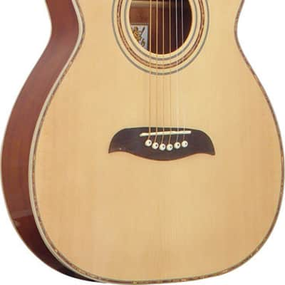 Oscar Schmidt Folk Style Acoustic Guitar, Select Spruce Top, Natural Finish, OF2 for sale