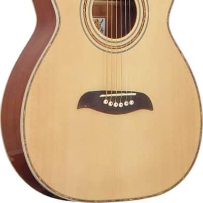Oscar Schmidt Folk Style Acoustic Guitar, Select Spruce Top, Natural Finish, OF2 for sale