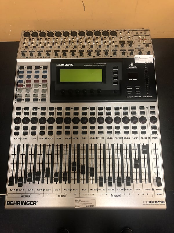 Behringer DDX3216 Fully Automated 32 Channel Digital Audio