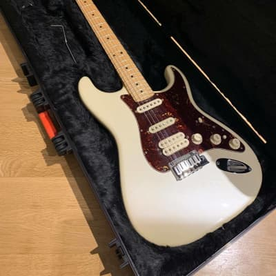 Fender American Deluxe Stratocaster HSS 2013 Pearl White SSL-1 pickups for sale