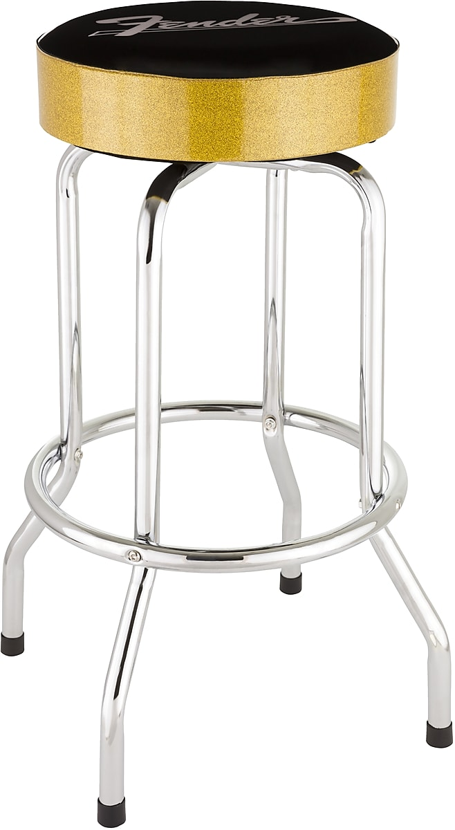 Excellent Fender Gold Sparkle 30 Barstool Ships Free Lower 48 States Alphanode Cool Chair Designs And Ideas Alphanodeonline