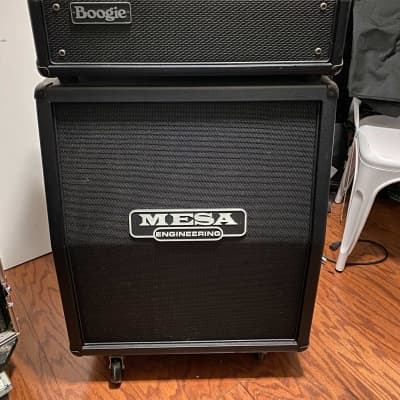 Mesa Boogie Mark V 90w Head w/2X12 vertical cab and extras!