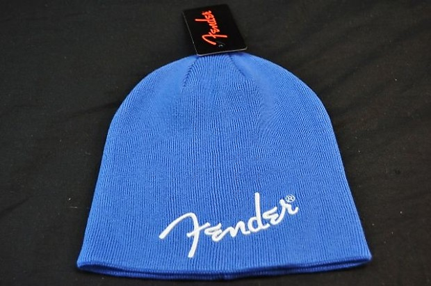 Fender Logo Royal Blue Beanie  fc99911a9ff0