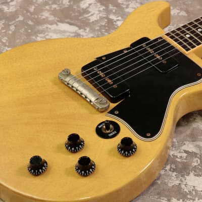 Gibson USA Custom Shop Historic Collection 1960 Les Paul Special Double Cutaway TV Yellow - Shipping