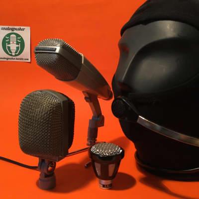Sennheiser MD421 + AKG K36 + EAG MD16 + MD14 drummer vintage studio microphone set