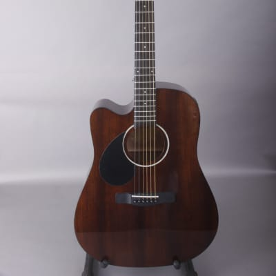 Samick Greg Bennett D1ce Natural Mahogany Acoustic Electric Left Handed