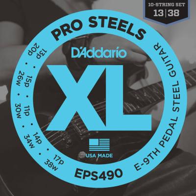 D'addario Pedal Steel Strings - E9