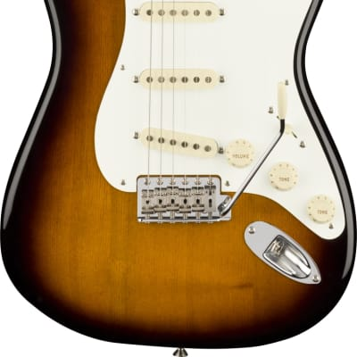"Fender Stories Collection Eric Johnson 1954 ""Virginia"" Stratocaster 2-Color Sunburst w/case for sale"