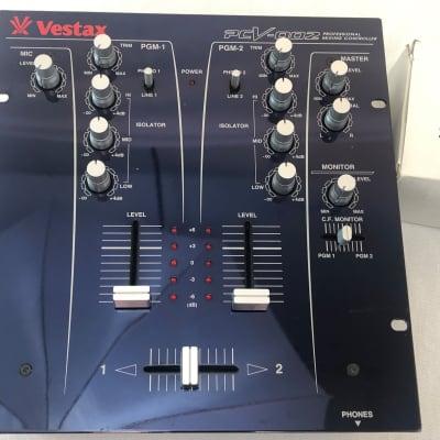 Vestax DJ Mixer PCV-002 Professional Mixing / Scratch Controller Isolator EQ