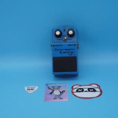 Boss CS-1 Compression Sustainer | Rare 1981 (Silver Screw) Made in Japan | Fast Shipping!