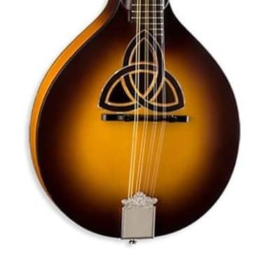 Luna Folk Series Trinity A-Style Mandolin, BGM TRI A, New, Free Shipping for sale