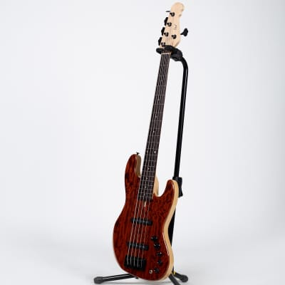 GV J705 Jazz Style Custom 5-String Bass Guitar for sale