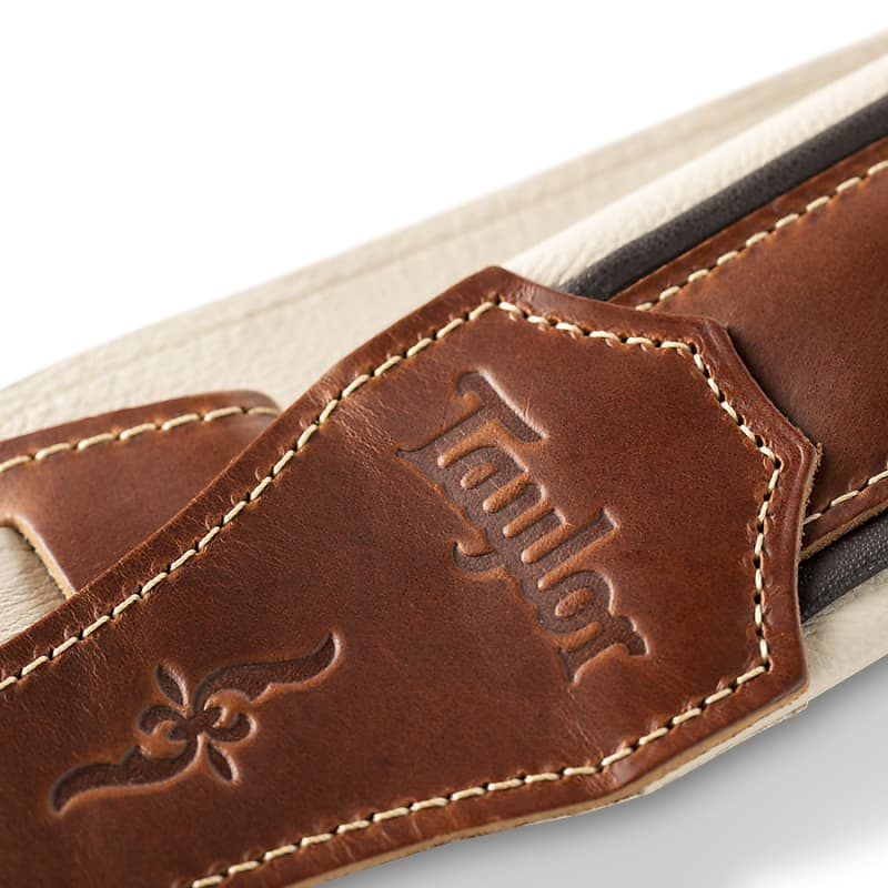 Taylor Renaissance Strap (400 Series), Medium Brown Leather, 2.5