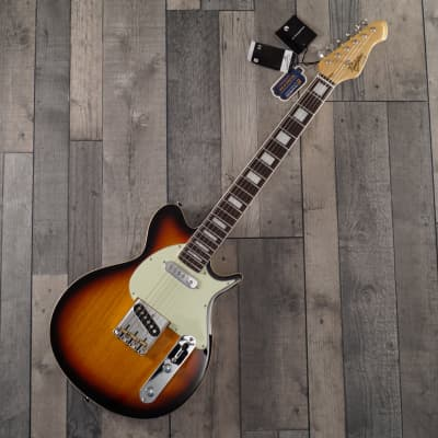 Revelation TTX DB Electric Guitar, 3 Tone Sunburst for sale