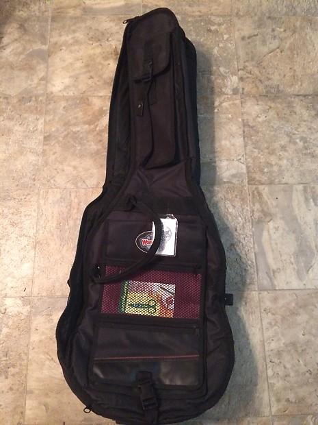 World Tour Double Guitar Gig Bag Black