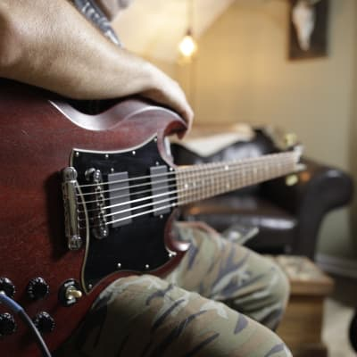 Gibson SG Special Faded with Rosewood Fretboard 2007 Worn Cherry for sale