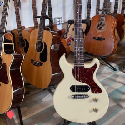 Durham Durham Custom Guitars JR Double Cut Electric Guitar Blonde