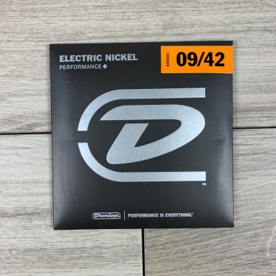 Dunlop Performance+ Electric Nickel Wound Guitar Strings, 09-42, Extra Light