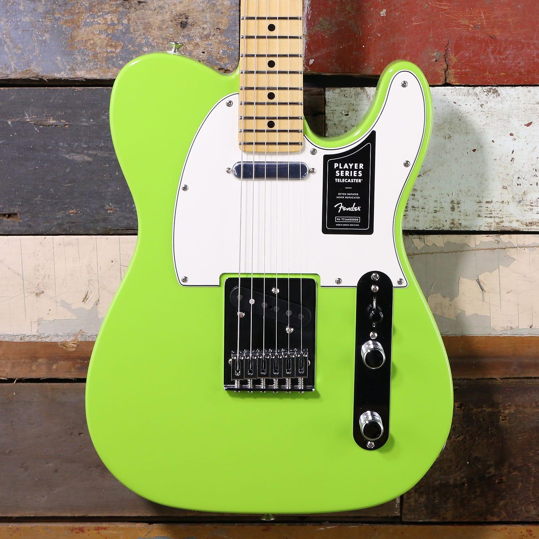 Fender FSR Player Series Telecaster Electron Green