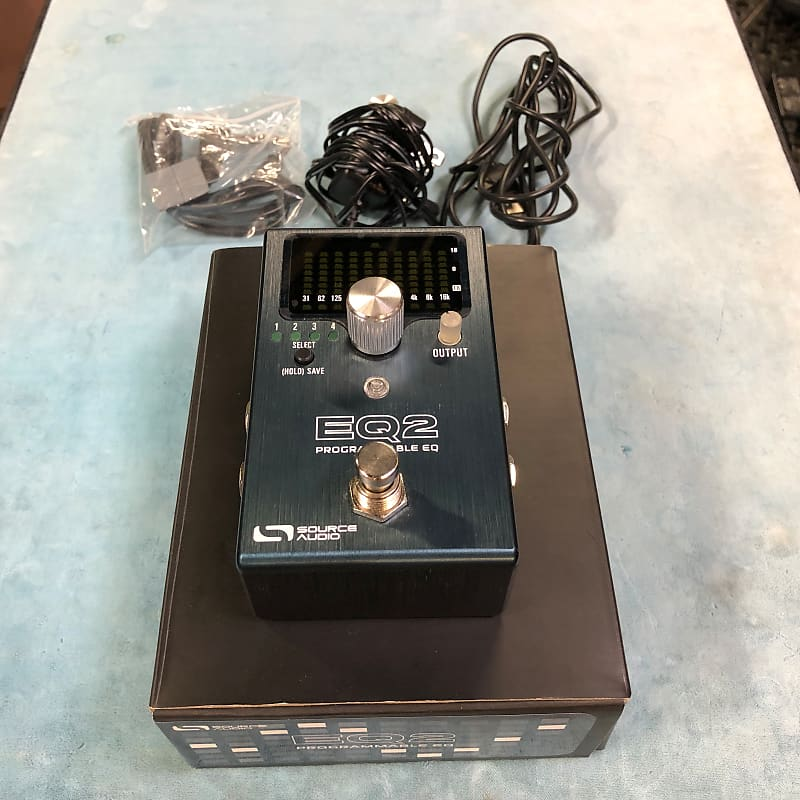 Source Audio SA270 EQ2 Programmable EQ Effects Pedal w/ Box & Power Supply