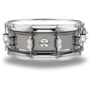 "PDP PDSN5514BNCR 5.5x14"" Black Nickel Over Steel Snare Drum"