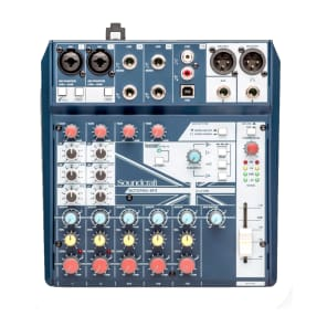 Soundcraft Notepad-8FX 8-Channel Analog Mixer with USB I/O