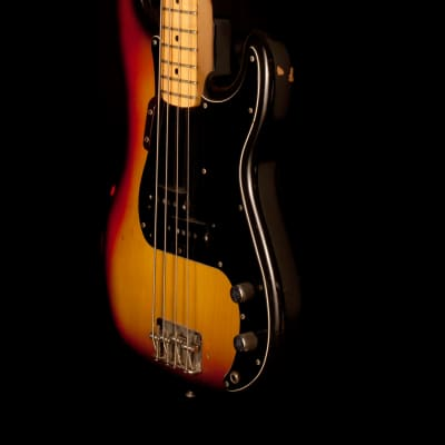 Fender Precision Bass 3 Color Sunburst 1975 for sale
