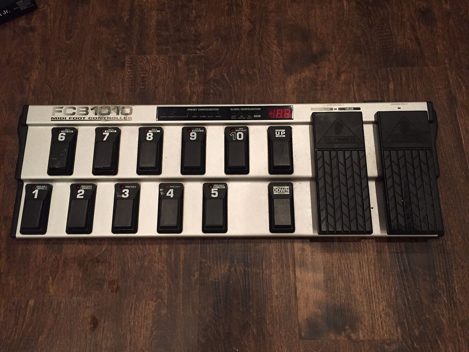 Switch And Controller Midi Foot Pedals
