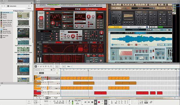 Propellerhead Reason 10 + iZotope Elements Suite