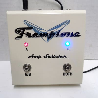 Keeley Framptone Amp Switcher Foot Switch A/B/Y ABY Selector Pedal True Bypass Peter Frampton # 283
