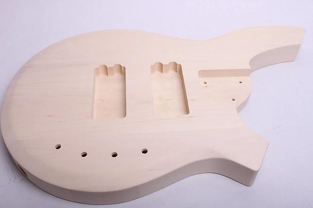 byoguitar 5 string bass guitar kit reverb. Black Bedroom Furniture Sets. Home Design Ideas