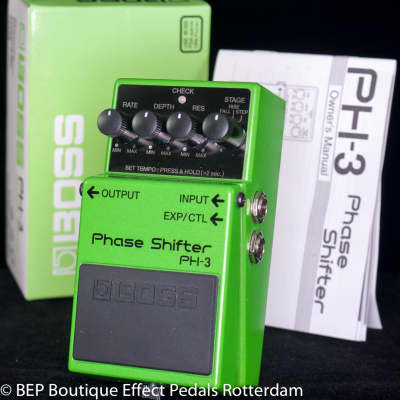 Boss PH-3 Phase Shifter 2004 s/n HZ12802 as used by Dan Auerbach