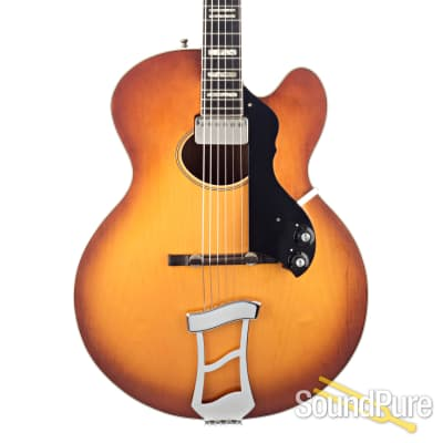 Hagstrom Jimmy Oval Hole Archtop Guitar #53 026073 - Used for sale