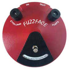 USED Dunlop JD-F2 Fuzzface Distortion Guitar Effects Pedal Fuzz Face Germanium JDF2