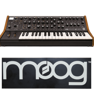 Moog Subsequent 37 Analog Synthesizer  [Three Wave Music]