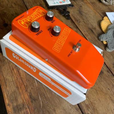 Colorsound Overdriver  2020 Orange special edition for sale