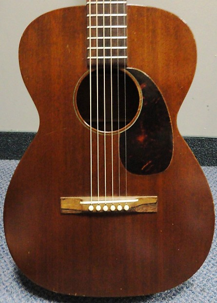 Vintage 1959 Martin 0 15 Mahogany Acoustic Guitar Reverb