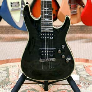Schecter Omen Extreme-7 Trans Black