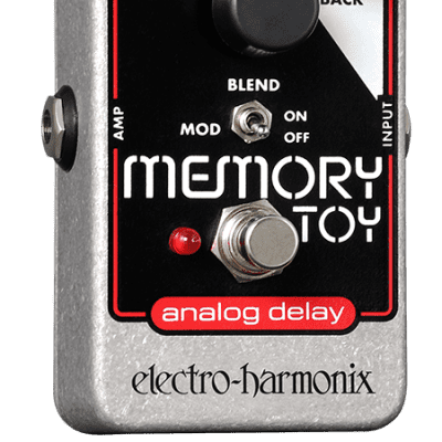 New Electro-Harmonix EHX Memory Toy Analog Delay Modulation Guitar Effects Pedal