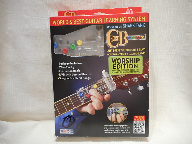 New Chord Buddy Learning System With 2 Instructional Books 1 Reverb