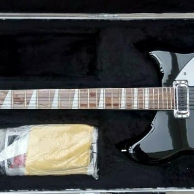 Rickenbacker 360/12 2020 Jetglo Black Unplayed! Unused! Perfect! Twelve String 360 12 for sale